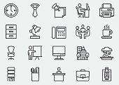 Office Line Icons | EPS10