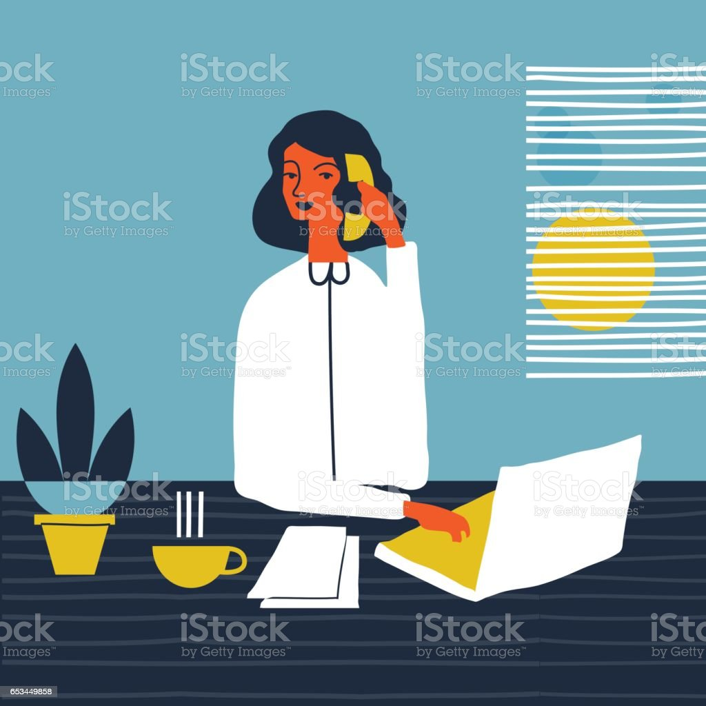 office manager – Vektorgrafik