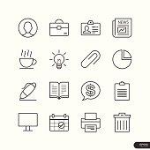 Office & Marketing Icons set