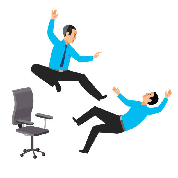 office ninja - russelltatedotcom stock illustrations