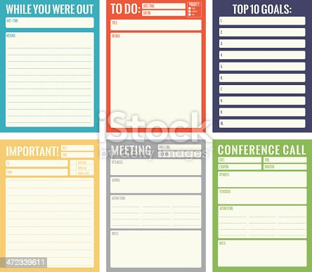 office notes template