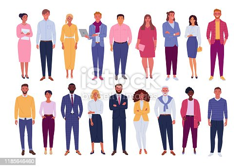 istock Office people collection. 1185646460