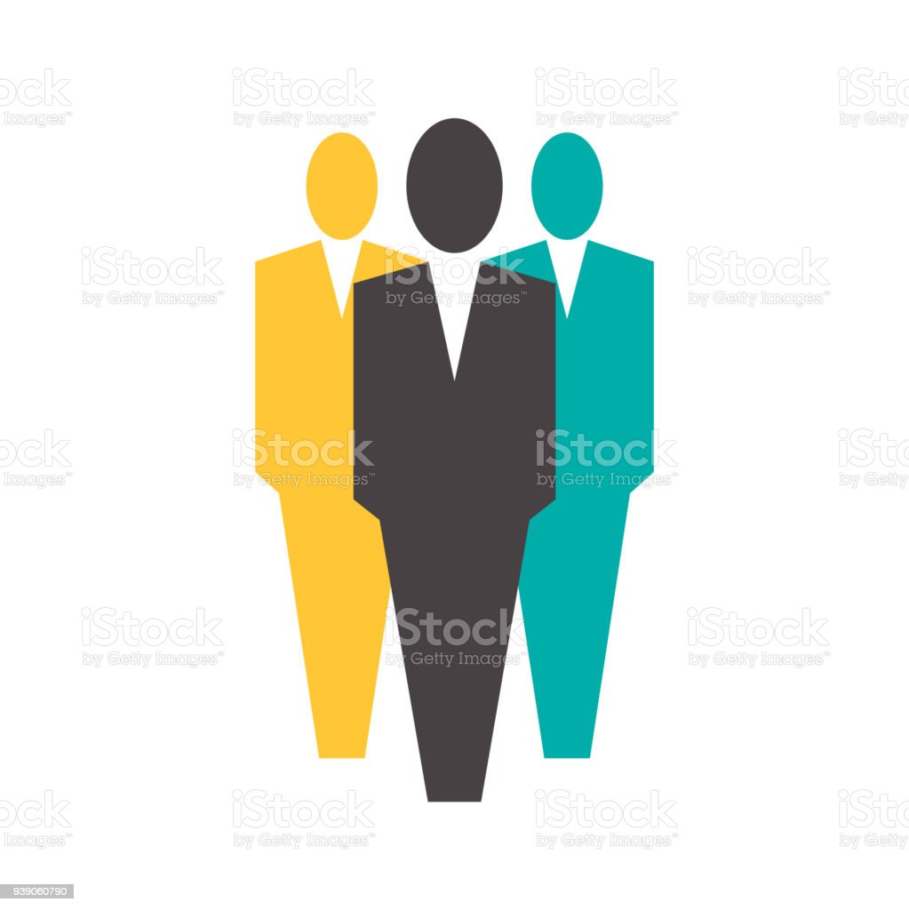 suits office. Office People Icon,three Men Wearing A Suits. Royalty-free Iconthree Suits I