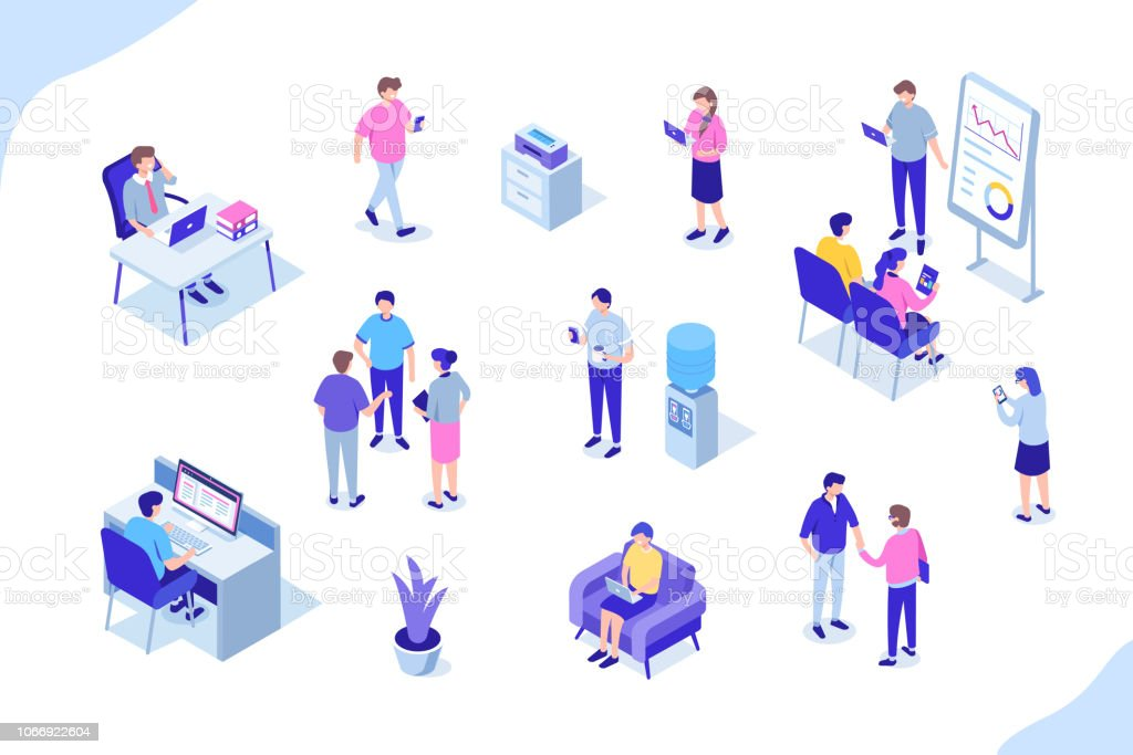 office people royalty-free office people stock illustration - download image now