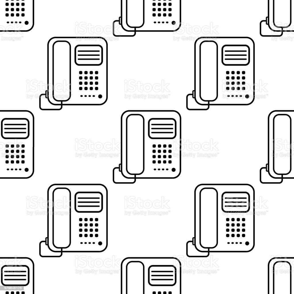 Office Phone Icon Element Of Appliances Icon For Mobile