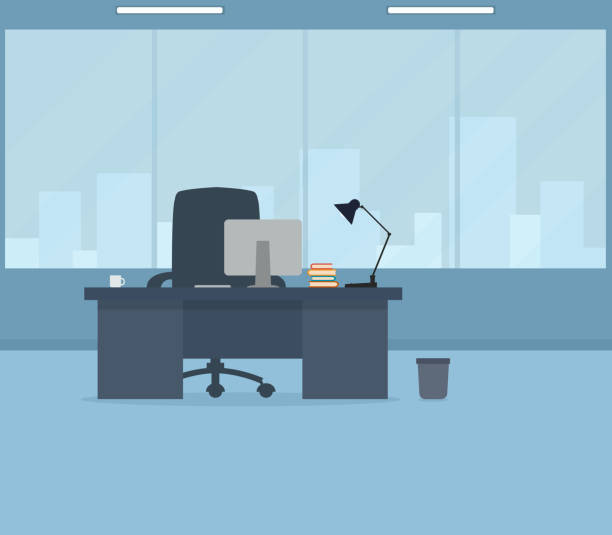 office room - office stock illustrations