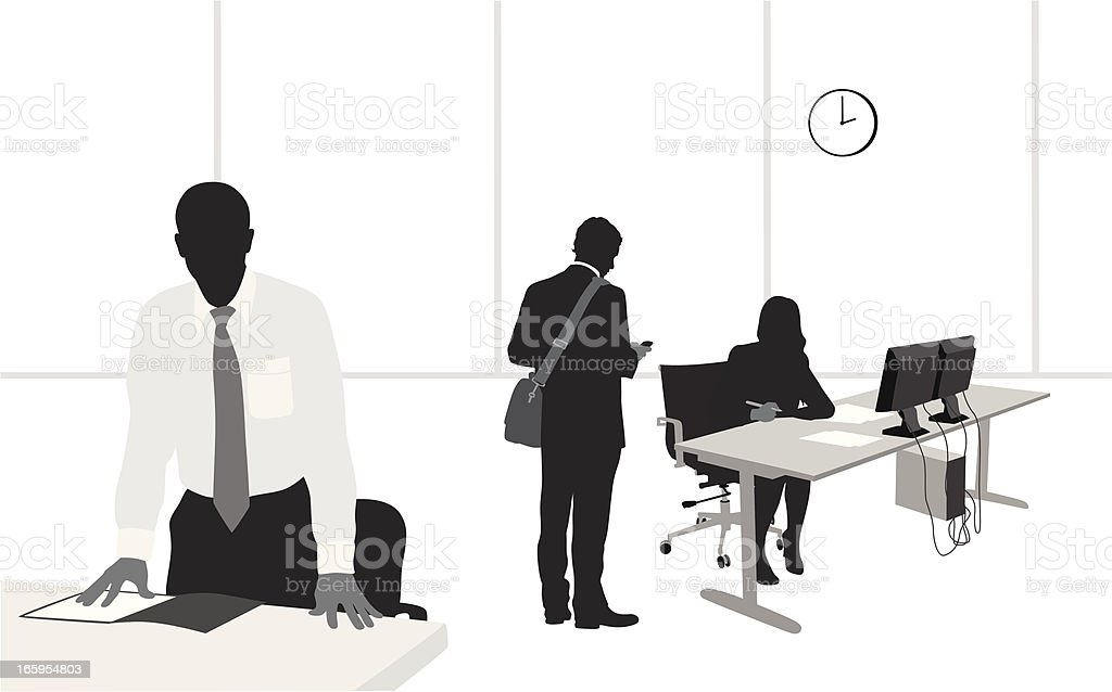 OfficeStaff – Vektorgrafik