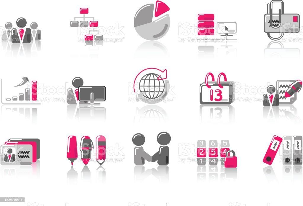 Office - SunnydayPINK Series royalty-free stock vector art