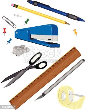 istock Office Supplies 505889177