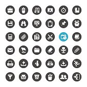 Office Supply and Paperwork related icons.