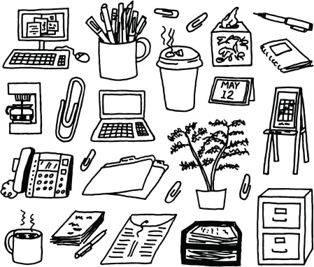 Doodles and hand-drawn stock illustrations