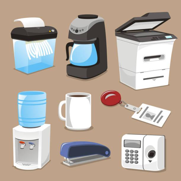 Office supply Elemente – Vektorgrafik