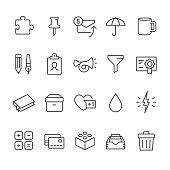 Office Supply vector icons