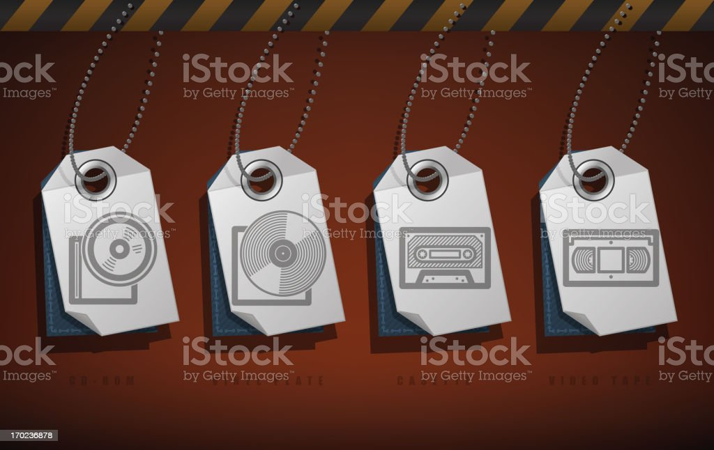 Office Supply royalty-free office supply stock vector art & more images of audio cassette