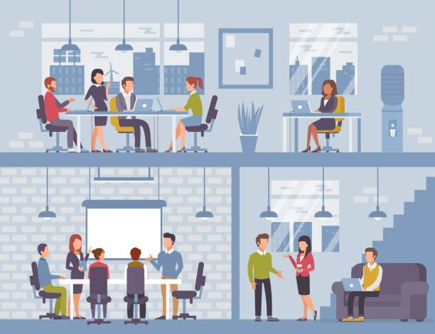 office - office stock illustrations