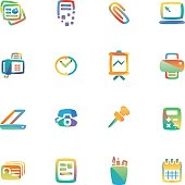 The vector file of office icon.