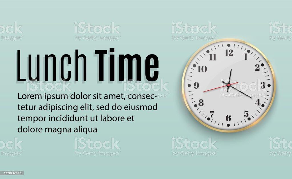 Horloge Murale De Bureau Modèle De Conception En Grande Taille Une