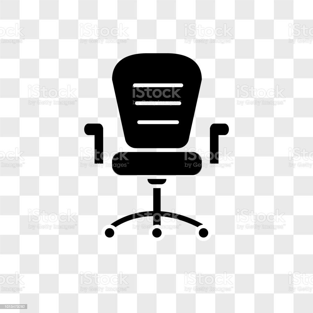 Burorader Stuhl Vektor Icon Auf Transparenten Hintergrund Stuhl Buro Rader Symbol Stock Vektor Art Und Mehr Bilder Von Arm Anatomiebegriff Istock