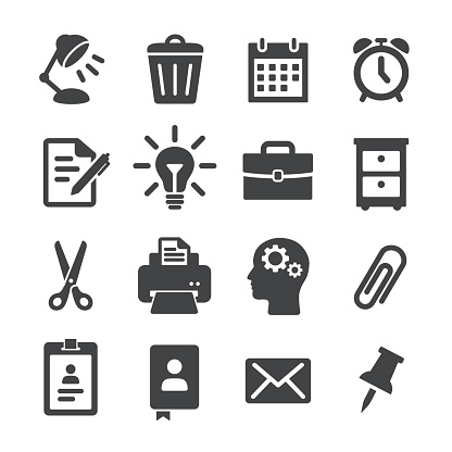 Office Work Icons - Acme Series