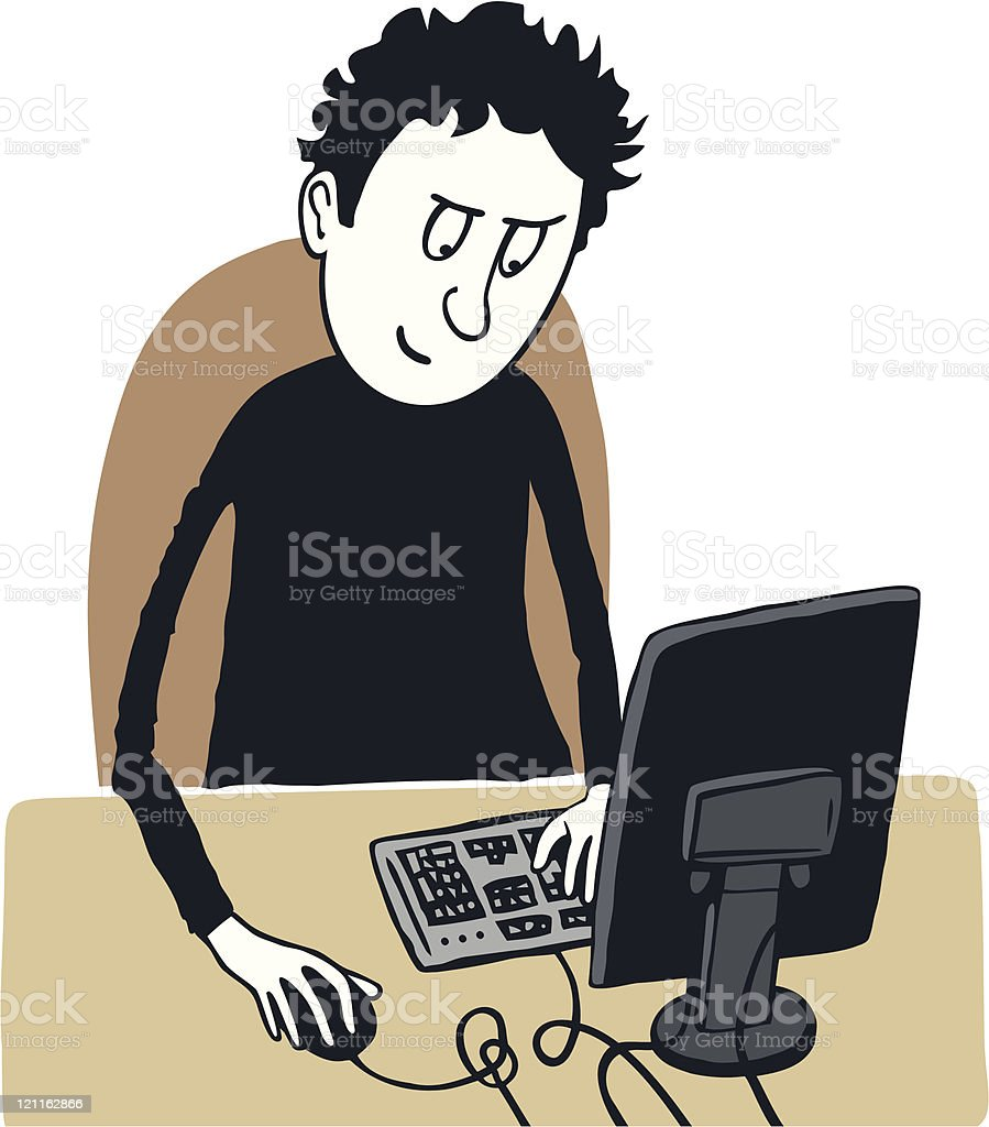 Office worker royalty-free office worker stock vector art & more images of adult