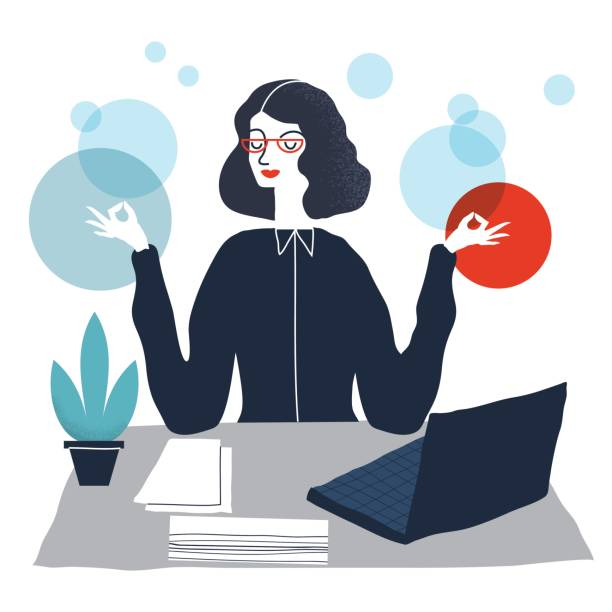 Büroberuf – Vektorgrafik