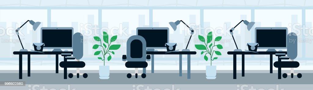 Büro Arbeiten Schreibtisch Mittagessen Pause Asiatische Küche Konzept  Vorlage Für Design Arbeit Und Animation Banner Flach