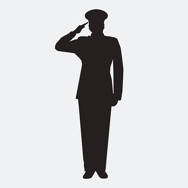 ilustrações, clipart, desenhos animados e ícones de diretor - forças armadas