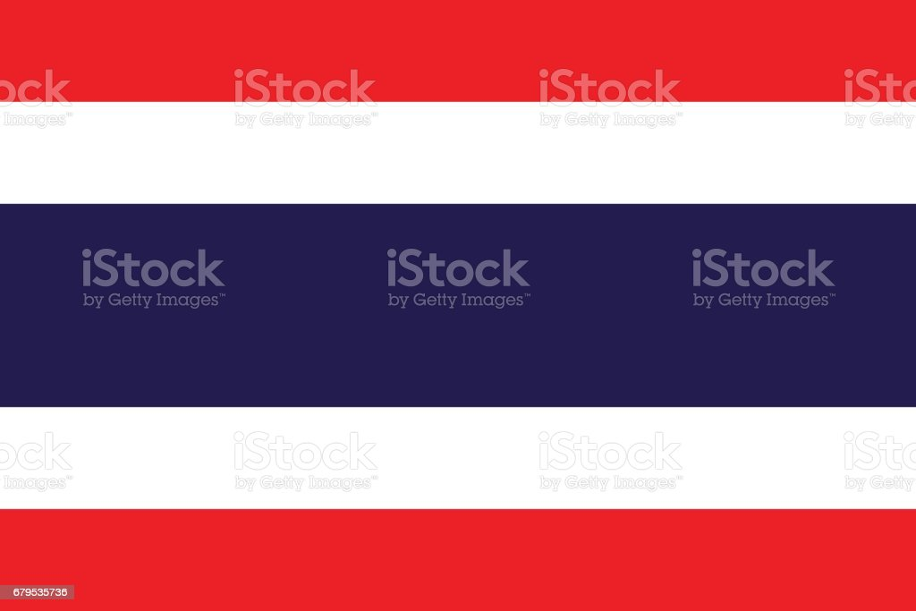 Official vector flag of Thailand . royalty-free official vector flag of thailand stock vector art & more images of accuracy