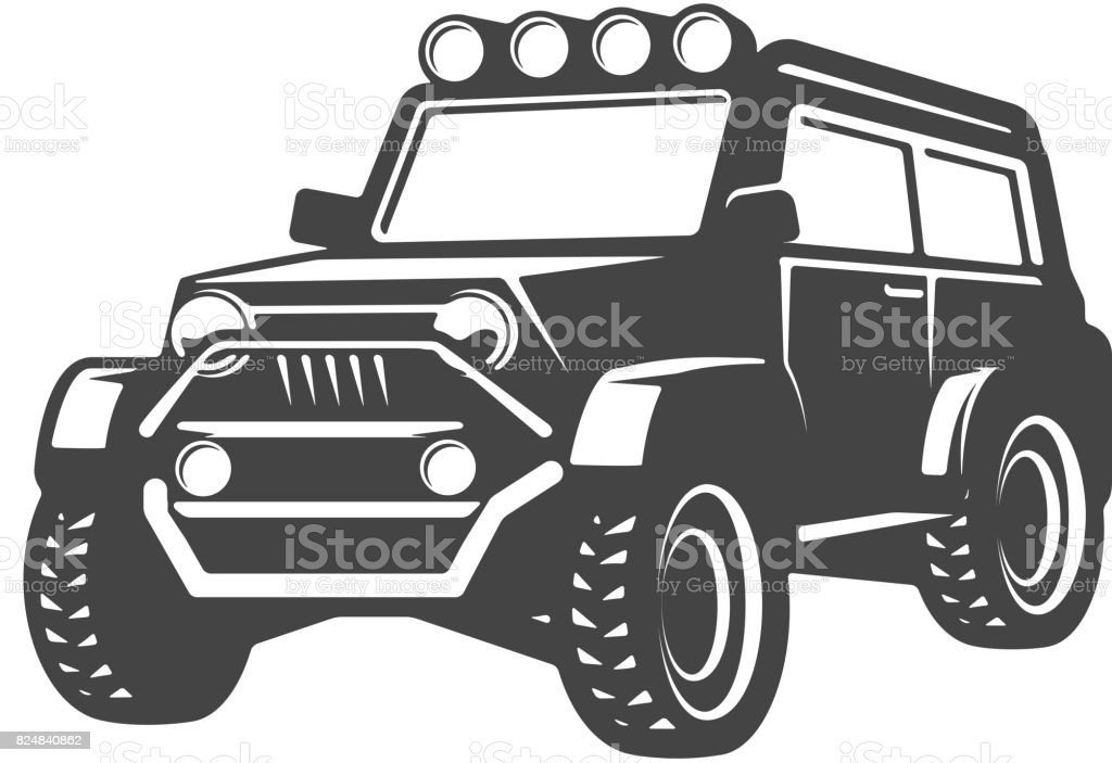 Royalty Free Jeep Clip Art Vector Images Illustrations Istock