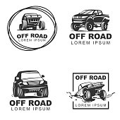 Free download of Offroad Jeep vector graphics and