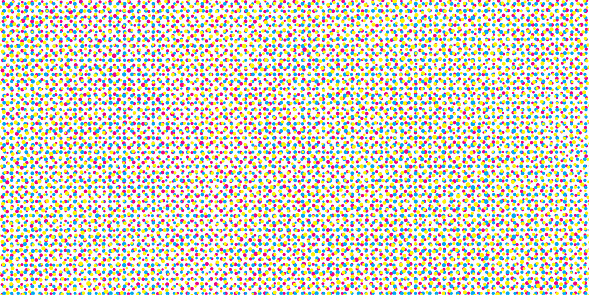 offset dots halftone pattern background