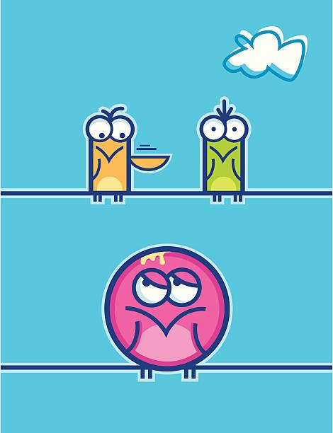 oh crap! - peter bajohr stock illustrations