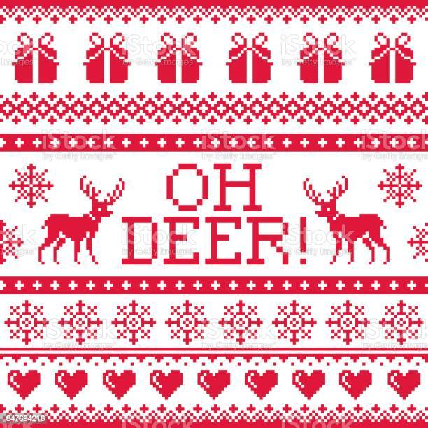 Oh deer red pattern christmas seamless design winter background vector id847694216?b=1&k=6&m=847694216&s=612x612&h=myf85fvthc73cxhfbv3cwz5mxvuq8l8wjgsrx08x1mu=