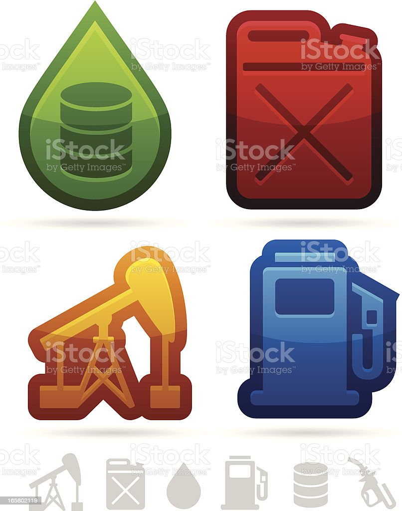 Oil and Gas Icons royalty-free oil and gas icons stock vector art & more images of alternative energy