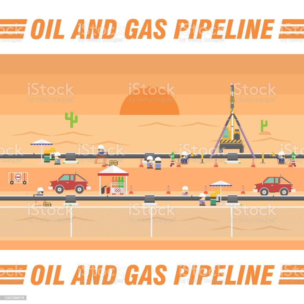 石油 ガス パイプライン輸送フラ...