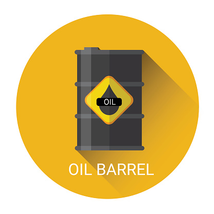 Oil Barrel Icon Stock Vector Art & More Images of Backgrounds