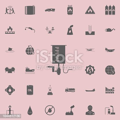 Oil Change In The Car Icon Oil Icons Universal Set For Web And