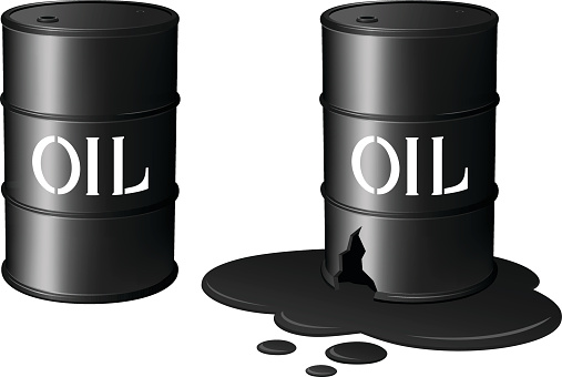 Oil Drums/Oil Spill