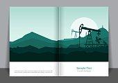 Oil Energy Cover design