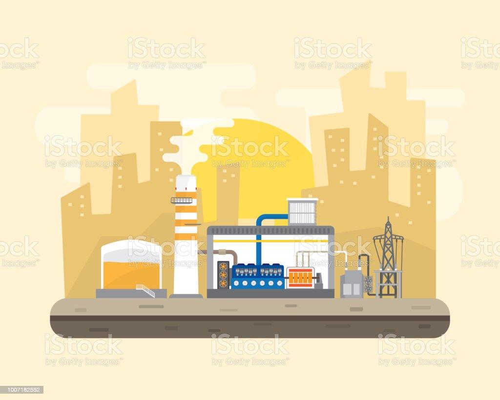 oil energy, diesel oil power plant royalty-free oil energy diesel oil power  plant