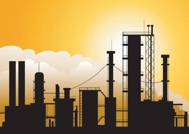 Best Oil Refinery Illustrations, Royalty-Free Vector ...