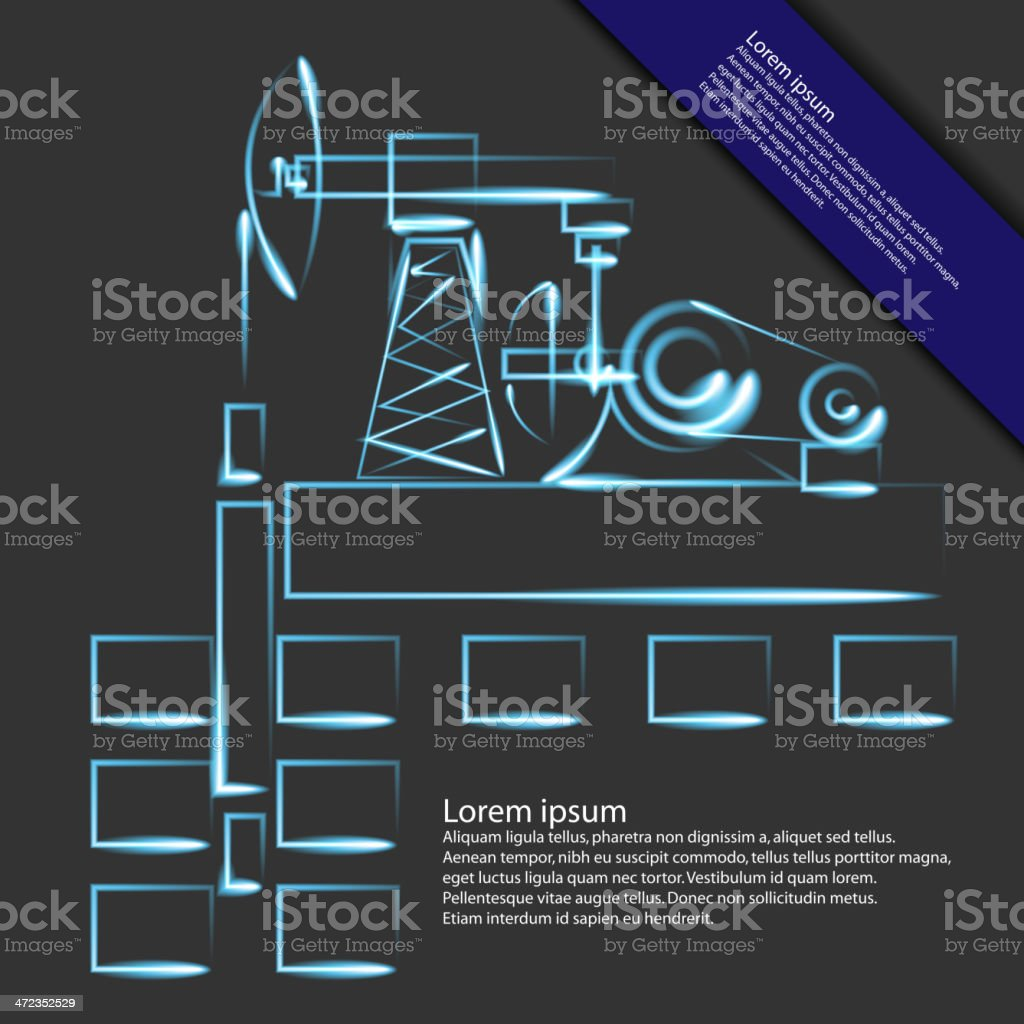 oil, gas royalty-free stock vector art