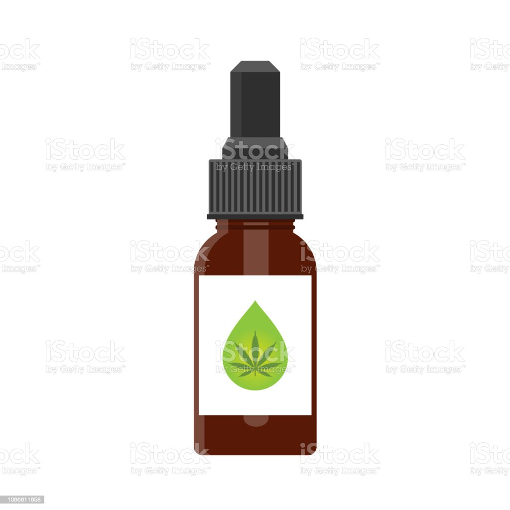 Produits du chanvre huile CDB produits du chanvre huile cdb vecteurs libres de droits et plus d'images vectorielles de agriculture libre de droits