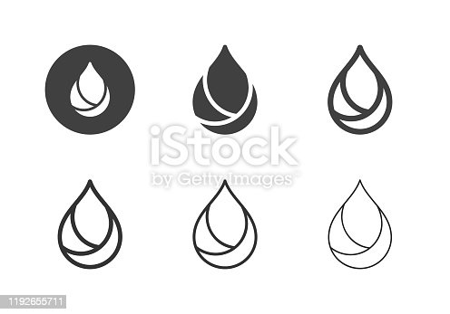 istock Oil Icons - Multi Series 1192655711