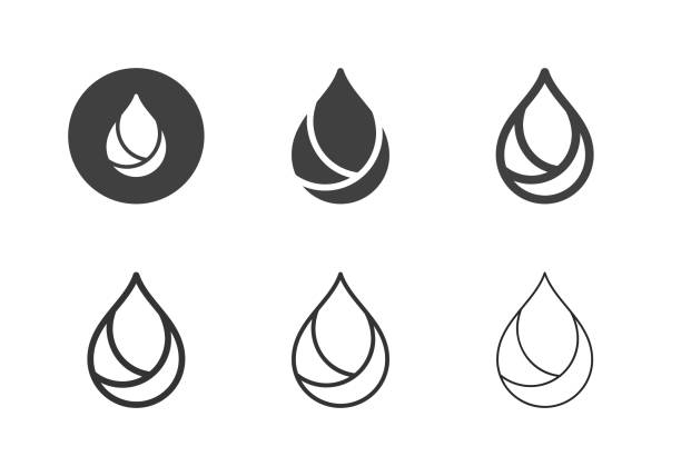 Oil Icons - Multi Series Oil Icons Multi Series Vector EPS File. oil stock illustrations