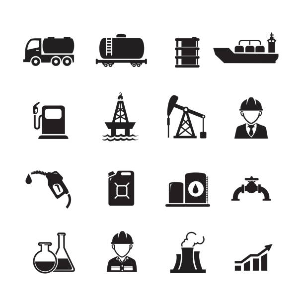 Library of oil and gas industry jpg free library png files ▻▻▻ Clipart Art  2019