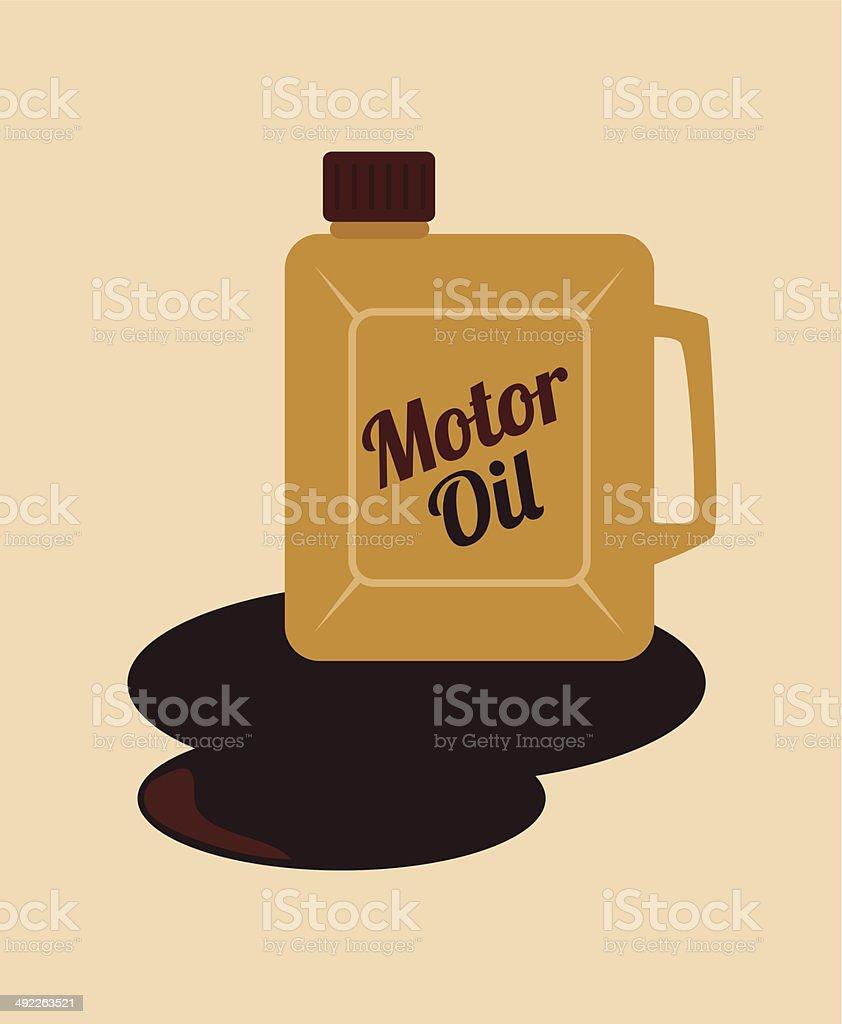 oil industry vector art illustration