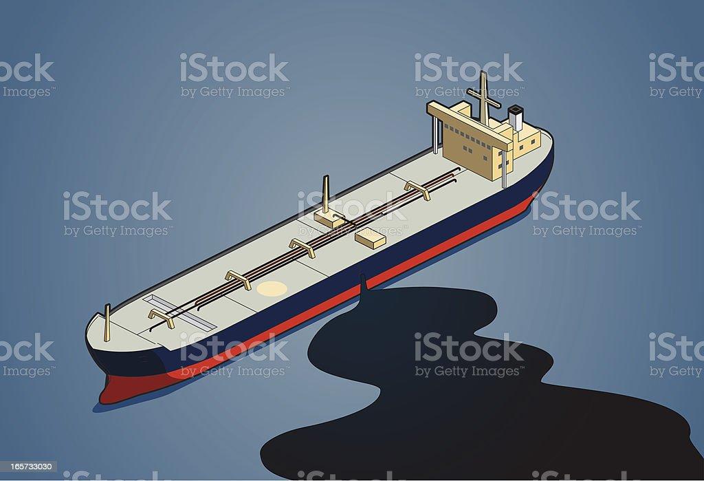 oil leakage royalty-free stock vector art