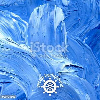 istock Oil painted background. 520731909