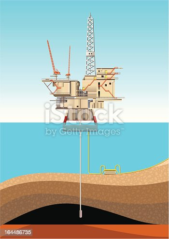 Sea Oil and Gas Production.
